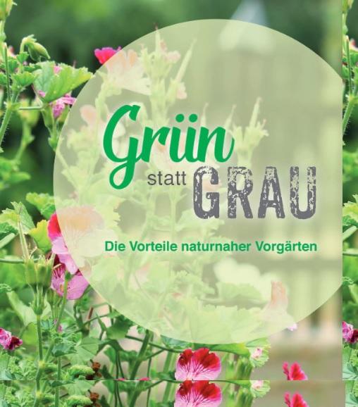 Förderprogramm für grüne Gärten