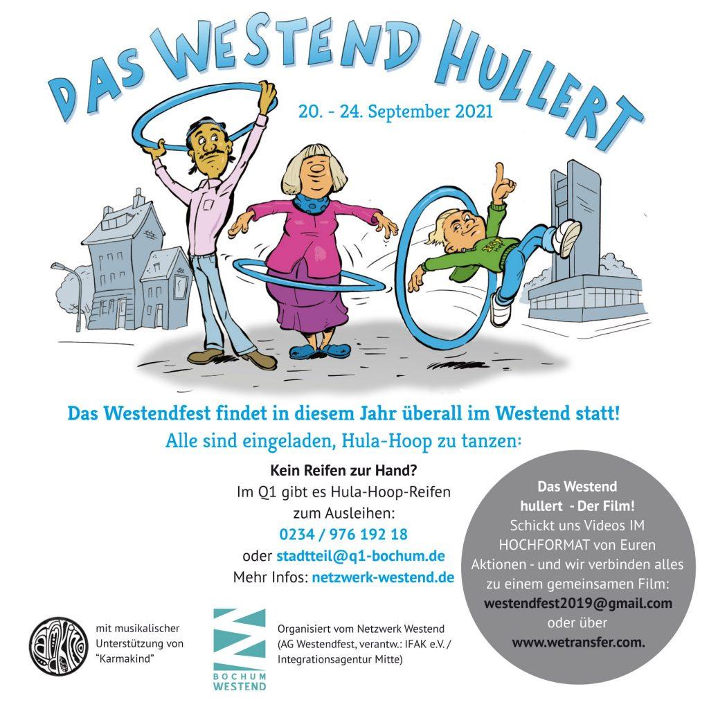 Hula-Hoop-Aktion: Das Westend hullert